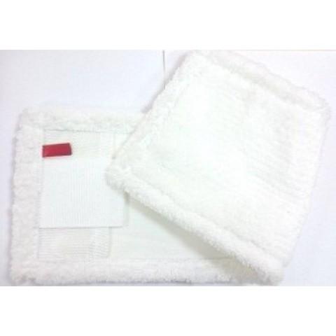 Моп плоский из микрофибры, карманы/ленты Standard, 40х13 см