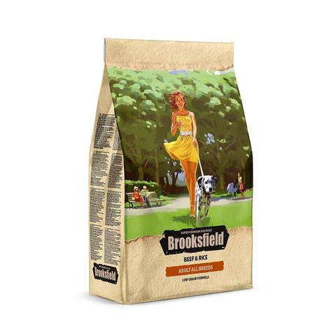 Сухой корм Brooksfield Low Grain Adult Dog All Breeds Beef