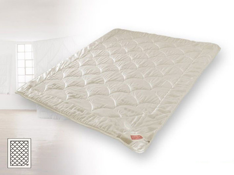 Одеяло шелковое очень легкое 200х200 Hefel Рубин Роял