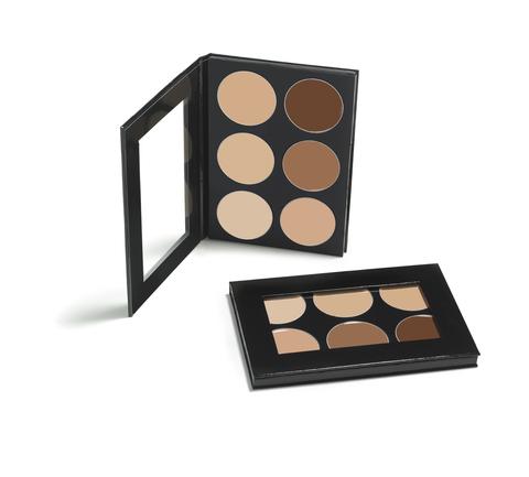 MEHRON Палитра профессиональных корректоров для лица Celebré Pro-HD™ Conceal-It Palette, 6 Shades