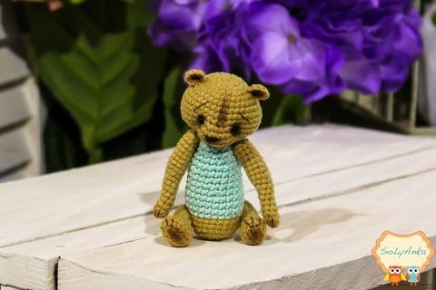 Ведмедик-ангел блакитний