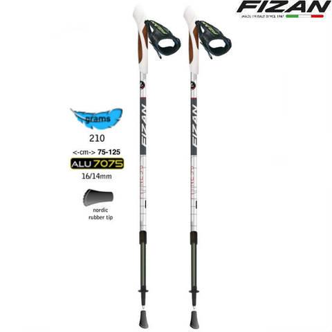 Скандинавские палки Fizan NW Fitness S19 7527 Италия