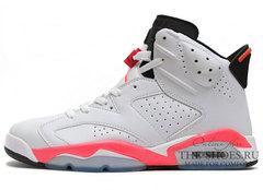 Кроссовки Мужские Nike Air Jordan VI White Coral