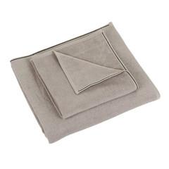 Полотенце 100х150 Hamam Qashmare Contrast коричневое