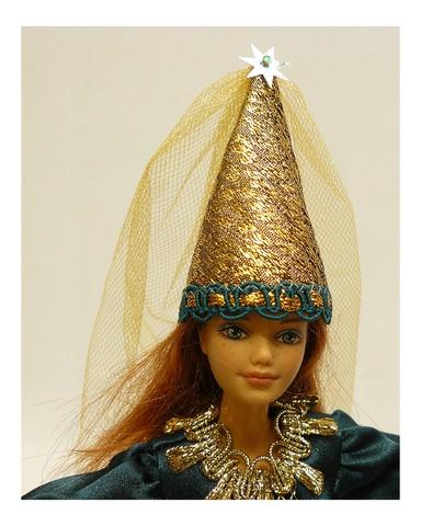 Готическое платье - На кукле. Одежда для кукол, пупсов и мягких игрушек.