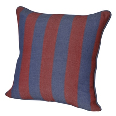Подушка декоративная 45x45 Casual Avenue Rhode Island Stripe сине-красная