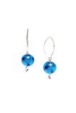 Серьги Perla Grazia голубые pois (Aqua Pois)