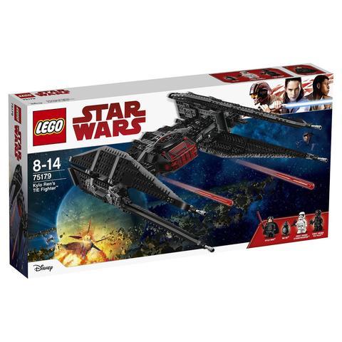 LEGO Star Wars: Истребитель СИД Кайло Рена 75179 — Kylo Ren's TIE Fighter — Лего Стар ворз Звёздные войны