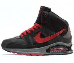 Кроссовки мужские с мехом Nike Air Max Skyline Grey Red