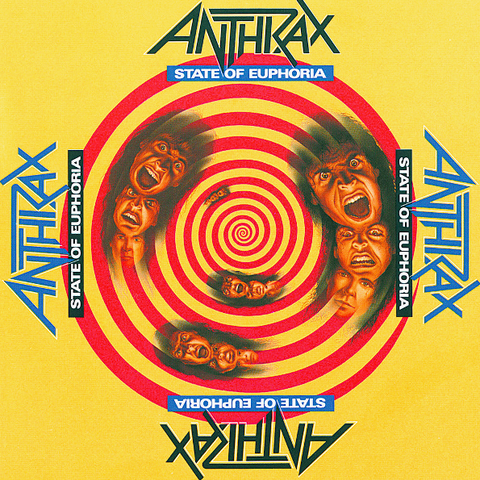 Anthrax / State Of Euphoria (30th Anniversary Edition)(2LP)