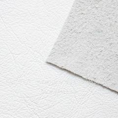 Кожа натуральная, белая, лист 21х15 см