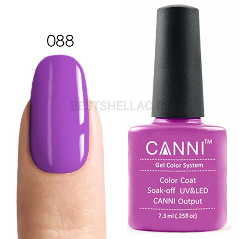 Canni Canni, Гель-лак 088, 7,3 мл 088.jpg