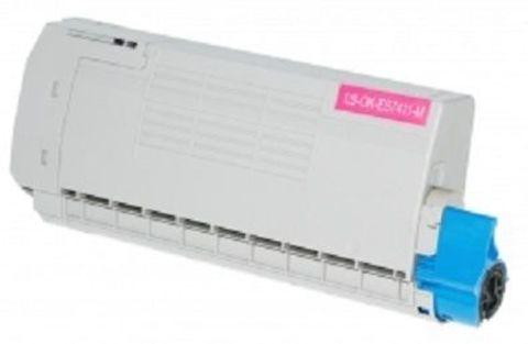 OKI TONER-M-ES7411/PRO7411WT - Тонер-картридж малиновый для принтеров Pro7411WT (44318618)