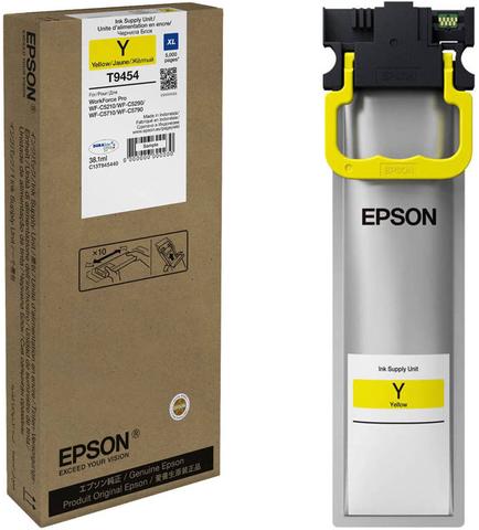 Epson C13T945440  - контейнер повышенной емкости с желтыми чернилами (5000 страниц)