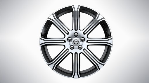 Диск колесный 20x8 8-Spoke Black Diamond