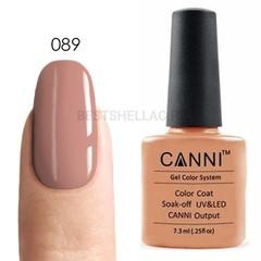 Canni, Гель-лак 089, 7,3 мл