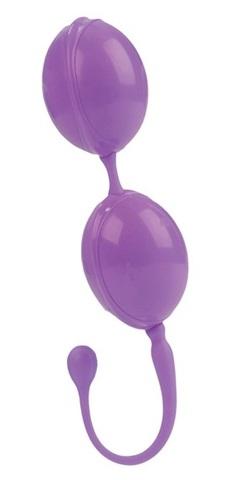Фиолетовые каплевидные вагинальные шарики L amour Premium Weighted Pleasure System