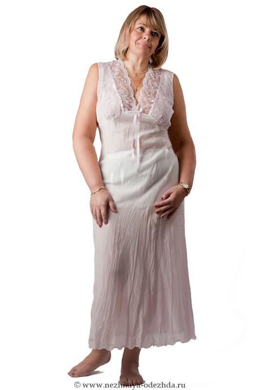 Ночная сорочка из жатого хлопка Rossella