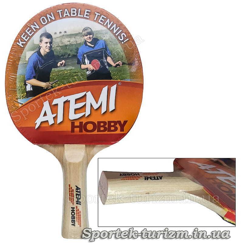 Ракетка для настольного тенниса Atemi Hobby