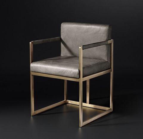 Wexler Square Leather Armchair