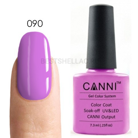 Canni Canni, Гель-лак 090, 7,3 мл 090.jpg