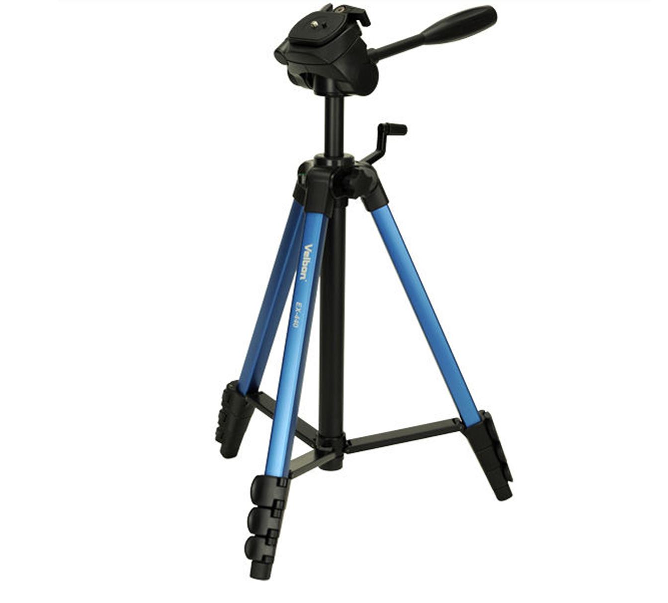 Velbon EX-440 (Штатив-тренога для фотоаппаратов и фотокамер Canon, Nikon, Sony)
