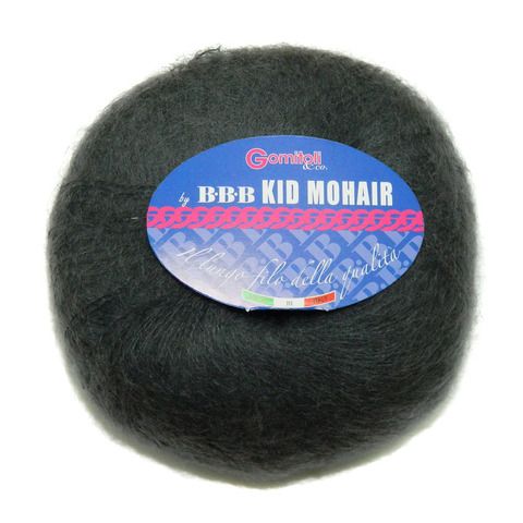 Пряжа BBB Filati Kid Mohair 0305 графит