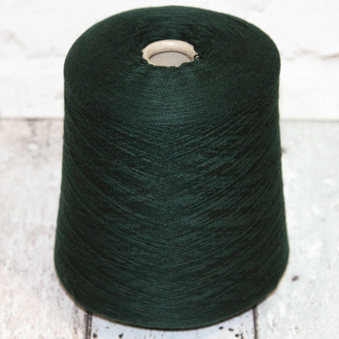 Кашемир LORO PIANA / CASHMERE 2/27 темно-зеленый