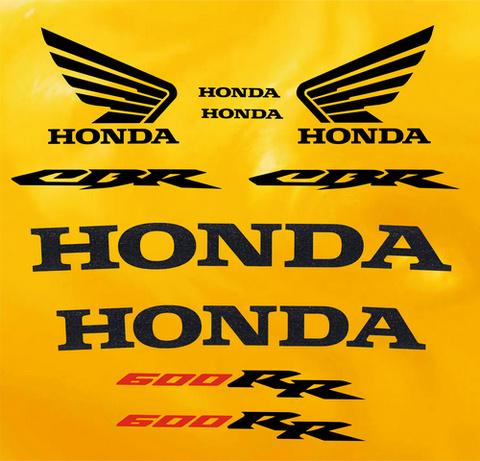 Набор виниловых наклеек на мотоцикл HONDA CBR 600RR 2003