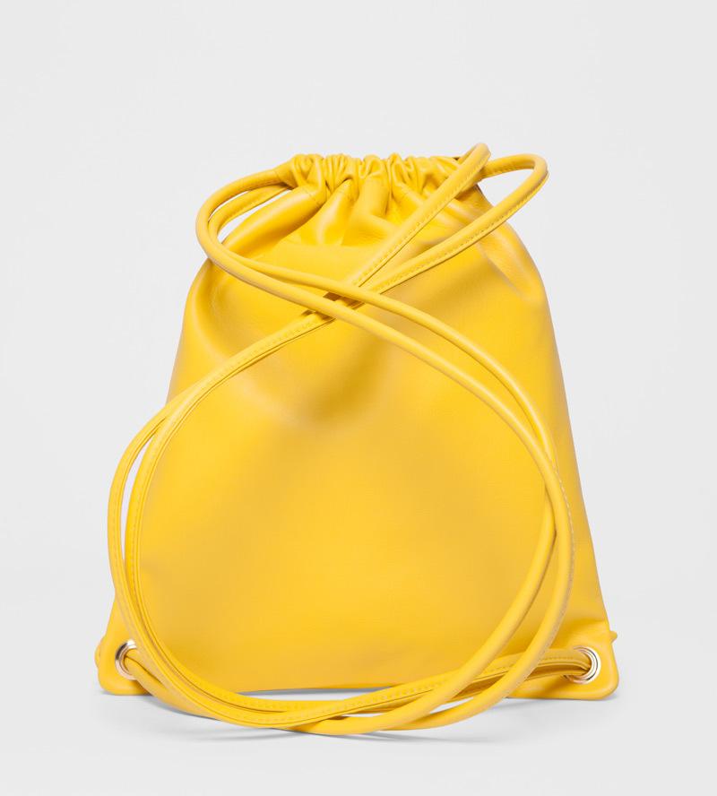 Рюкзак из кожи  Rabbit Head Yellow