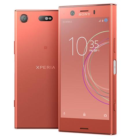 Смартфон Sony Xperia XZ1 Compact, цвет закатно-розовый