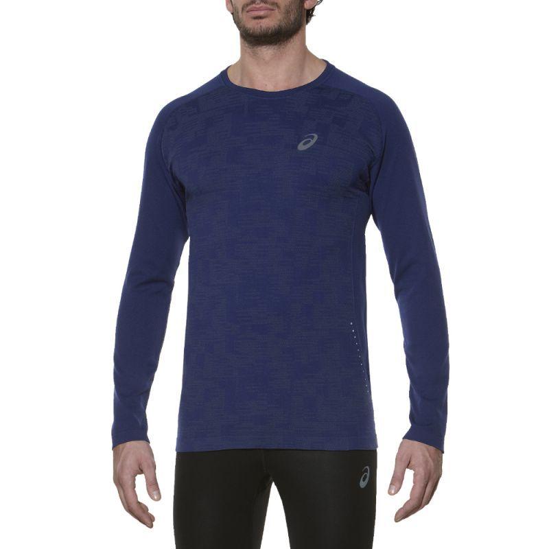 Мужская рубашка для бега Asics LS Seamless Top (124753 8052)