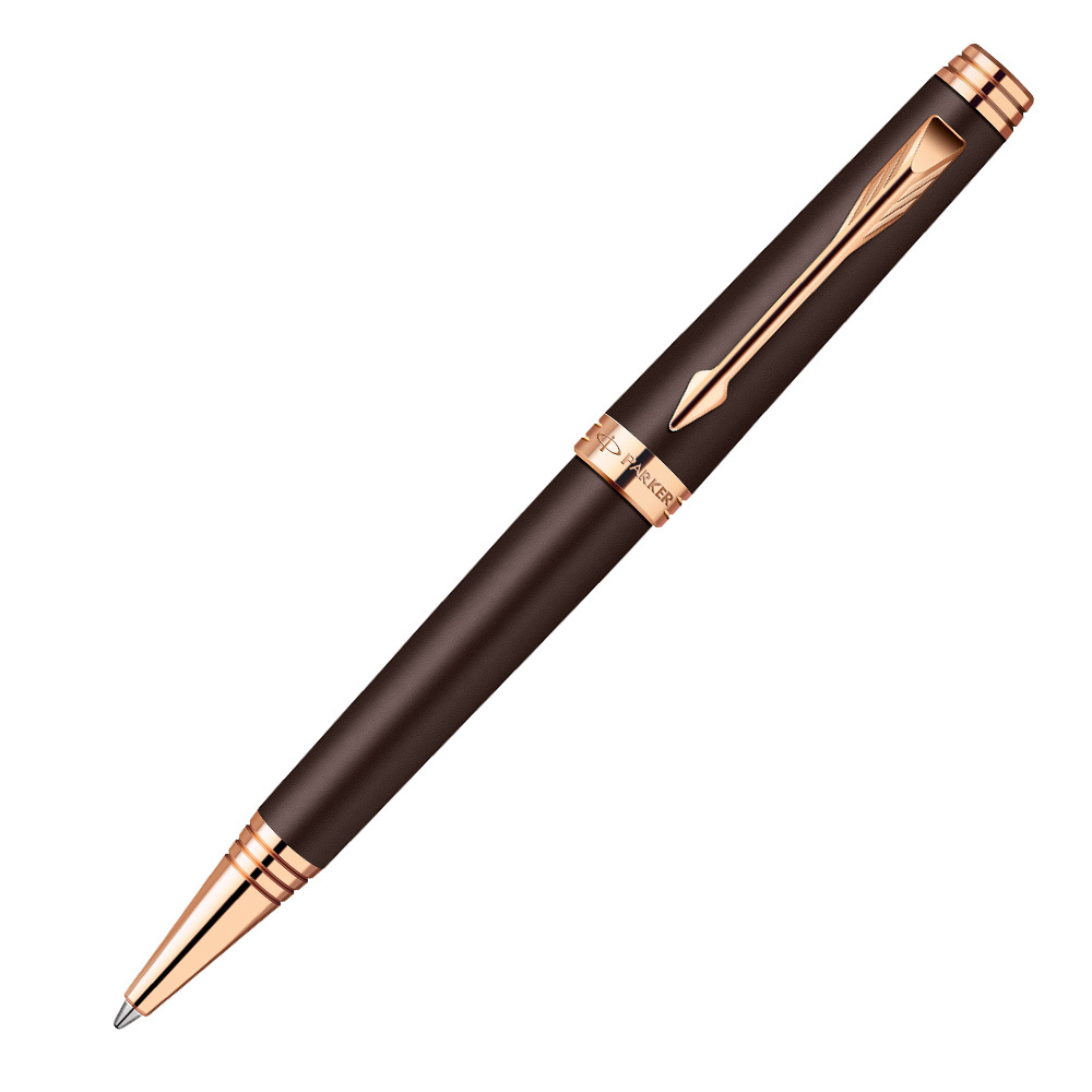 Parker Premier - Soft Brown PGT, шариковая ручка, M, BL