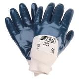 Перчатки трикотажные с нитриловым покрытием, манжета, полуобливные (Nitras)