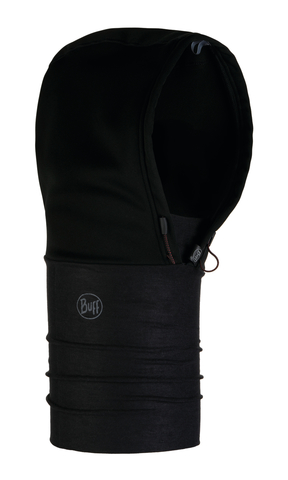 Шарф-капюшон непродуваемый Buff Solid Black