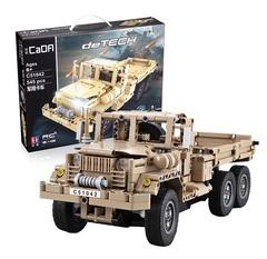Конструктор серия Армия Радиоуправляемый Военный грузовик