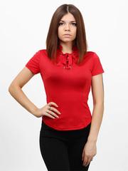 3388 кофта женская, красная