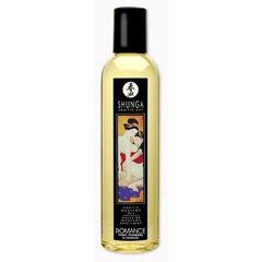 Массажное масло с ароматом клубники и шампанского, SHUNGA Romance (250 мл.)