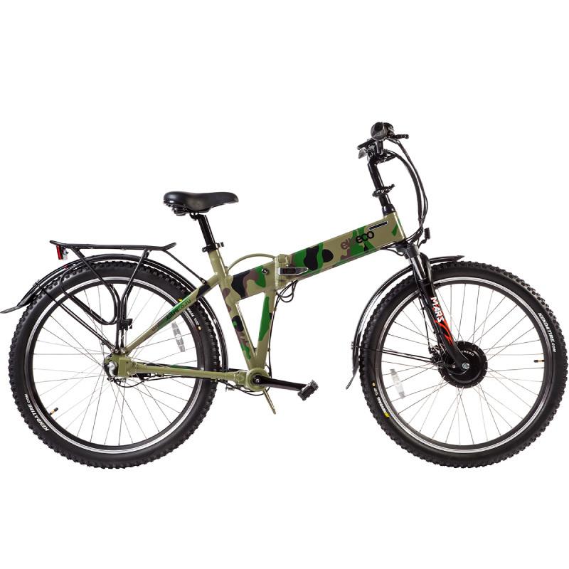 Велогибрид Eltreco PATROL КАРДАН 26 камуфляж - Велогибриды, артикул: 780630