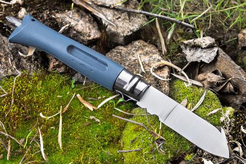 Нож Opinel №09 DIY, нержавеющая сталь, сменные биты, серый