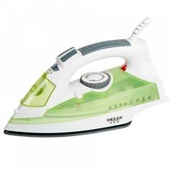 Утюг электрический  DELTA LUX DL-350 белый с зеленым
