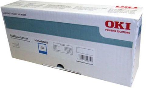OKI TONER-W-ES7411WT/PRO7411WT - Тонер-картридж белый для принтера Pro7411WT (44318659)