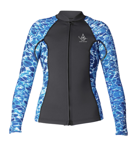 XCEL OCEAN RAMSEY COLLECTION WOMEN'S 2/1MM AXIS FRONT ZIP TOP
