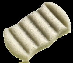Спонж Конняку для тела с зеленой глиной