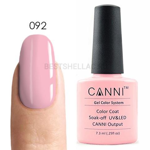 Canni Canni, Гель-лак 092, 7,3 мл 092.jpg