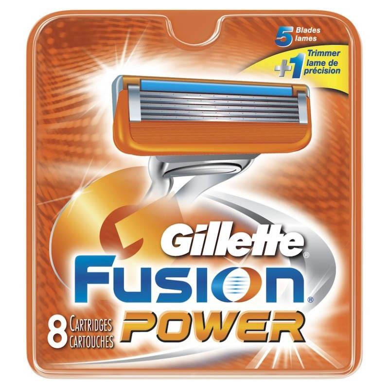 Кассеты Gillette Fusion Power 8 шт