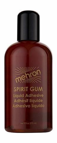 MEHRON Сандарачный матовый клей Spirit Gum, 270 мл