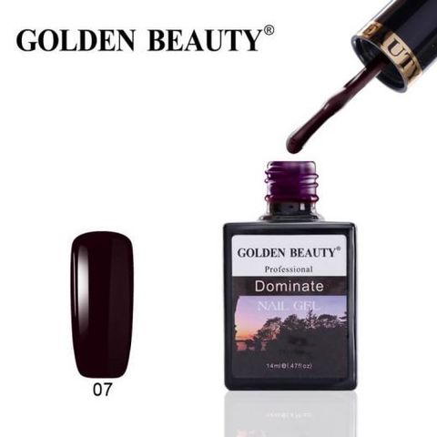 Гель лак Golden Beauty 14ml №07