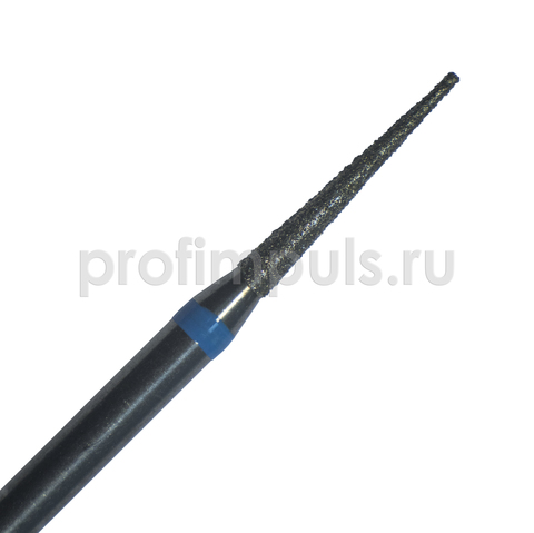 167.018 (МТА) фреза алмазная конус острый (игла) 1,8 мм средней зернистости