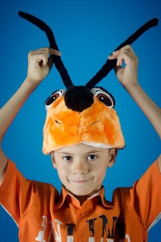 Карнавальная шапочка Жук